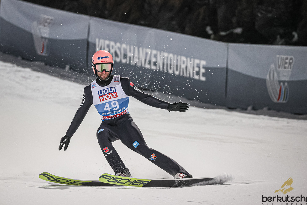 Skispringen Bischofshofen 2021