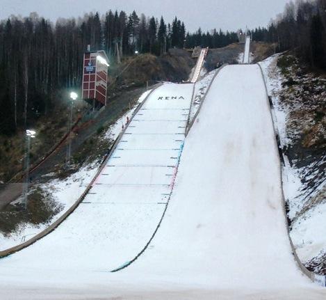 Skoki narciarskie Berkutschi.com - Skocznie - Rena - Renabakkene