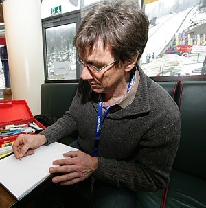 Thomas Zipfel, der Herr des Bleistifts