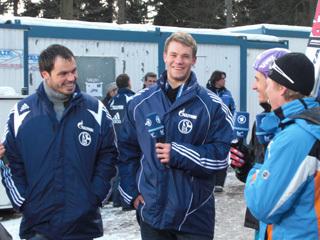 Schalke goes Skispringen