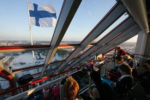 Windiger Auftakt in Lahti