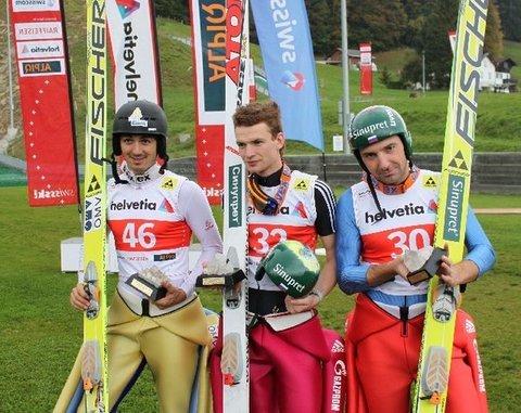 Kornilov und Schneider gewinnen FIS Cup in Einsiedeln
