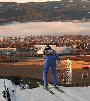 ÖSV-Adler machen Schneesprünge in Lillehammer