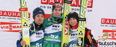 Bardal wins at Kulm - Schlierenzauer disqualified