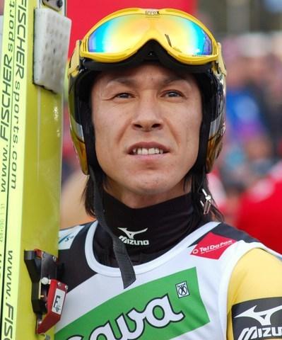 Noriaki Kasai trénuje ve Finsku