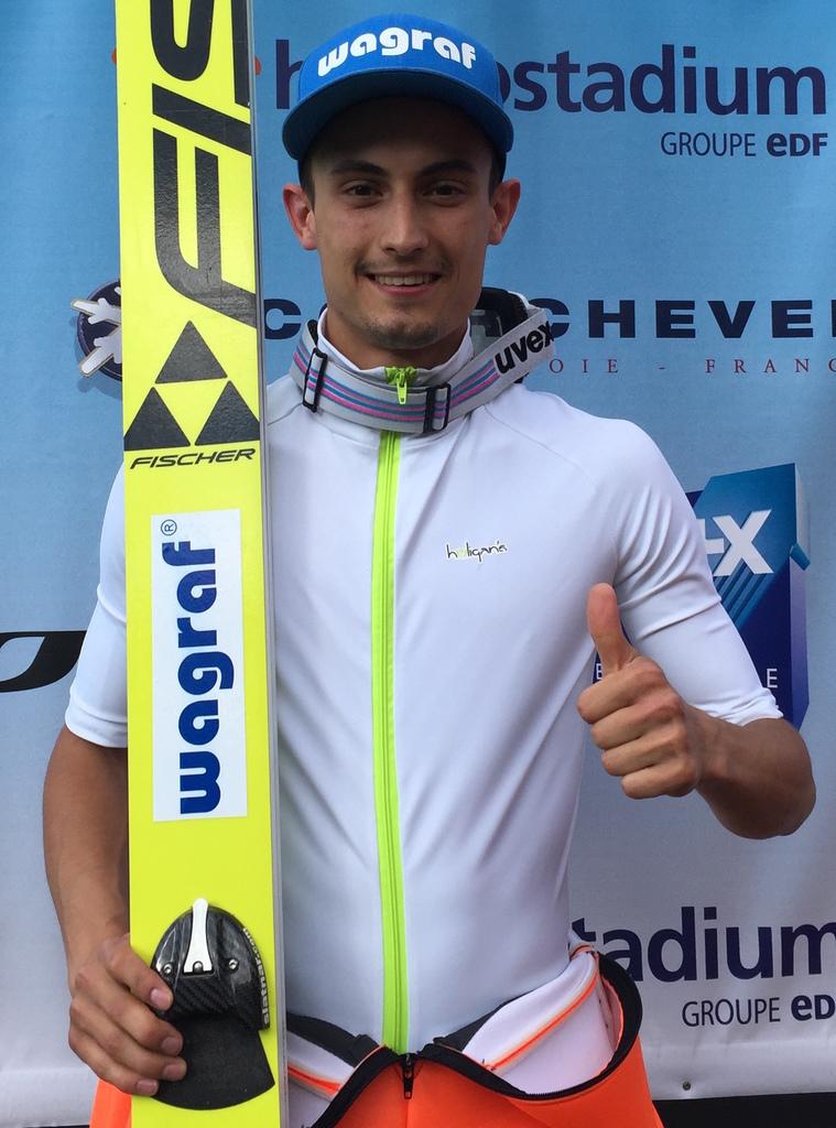 Skispringen Berkutschicom Maciej Kot Erster Qualisieger Des