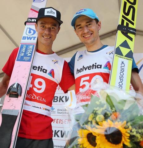 ポーランドの2選手がアインシーデルンで同点優勝