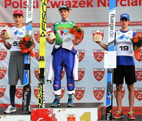 PK - Philipp Aschenwald wygrywa w Szczyrku