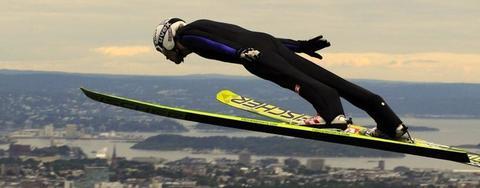 COC Skispringen in Oslo live