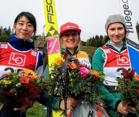 COC-L: Katharina Althaus wieder die Beste