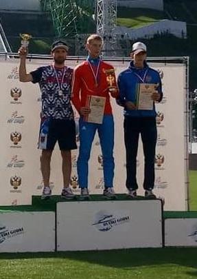 Evgeniy Klimov podwójnym mistrzem Rosji