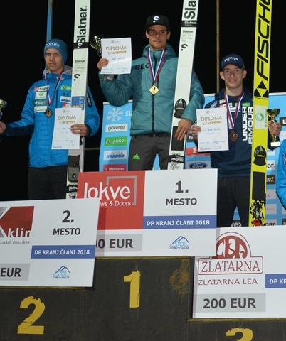 Justin i Klinec mistrzami Słowenii