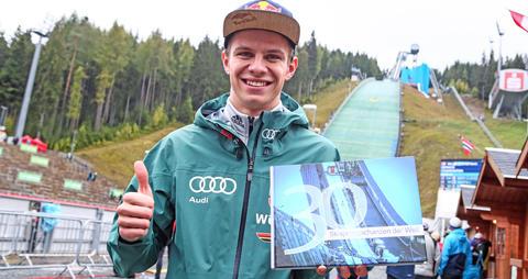 30 Skisprungschanzen  -  Das Buch  hier exklusiv