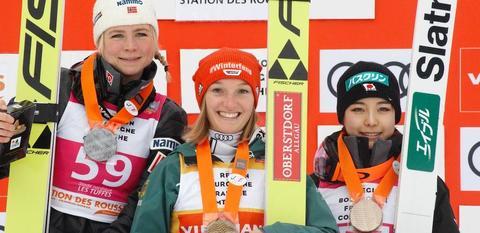 Katharina Althaus erneut die Beste