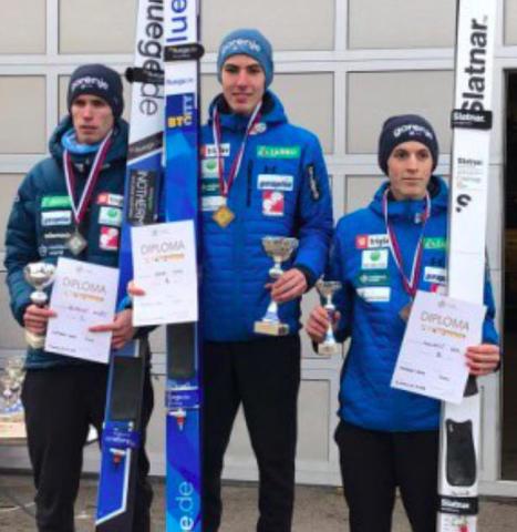 Timi Zajc und Ursa Bogataj slowenische Meister - Klinec verletzt
