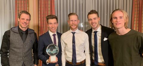 Norwegens Skispringer sind Team des Jahres