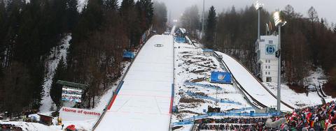 COC Skispringen in Bischofshofen live