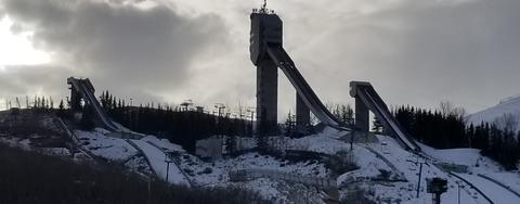 Calgary Olympic Park vor dem Aus