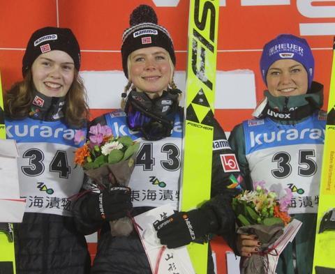 Zao: Zwei Norwegerinnen an der Spitze