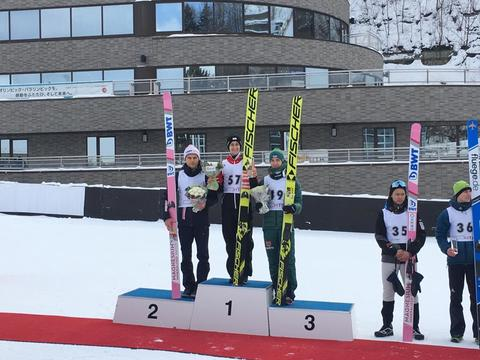 Kontinentální pohár v Sapporu: Vančura po dvou letech na stupních vítězů! Blýskl se druhým místem