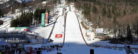 COC Skispringen in Planica live