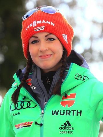 Juliane Seyfarth und Maren Lundby stark im Training