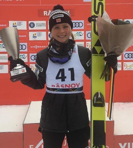 Maren Lundby gewinnt in Rasnov