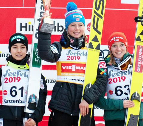 Maren Lundby gewinnt weiter