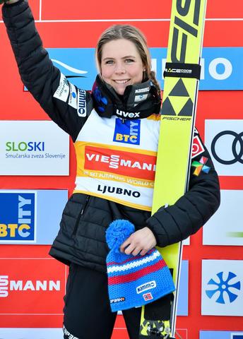 Sechster Sieg in Folge für Maren Lundby
