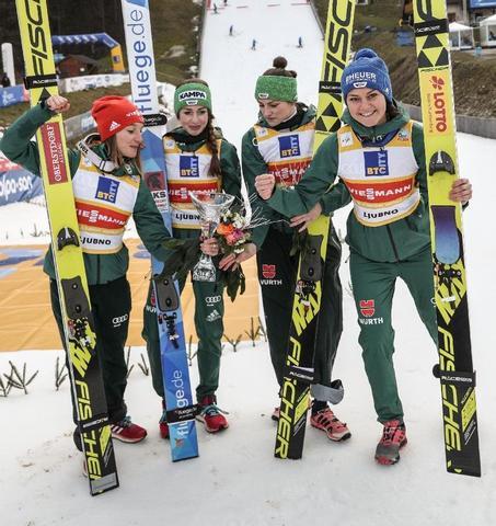 Deutsche Damen dominieren in Ljubno