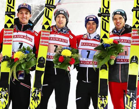 Austria wygrywają w Lahti
