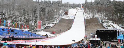 Programm FIS Weltcup Willingen, Oberstdorf