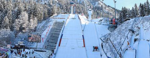 COC Skispringen in Oberstdorf live