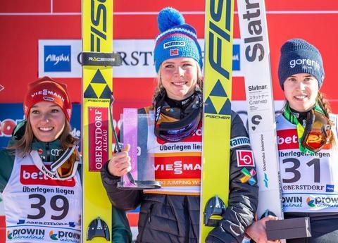 Maren Lundby gewinnt in Oberstdorf
