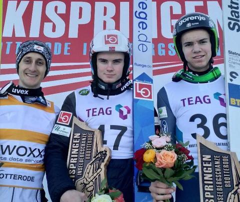 COC-M: Marius Lindvik gewinnt in Brotterode