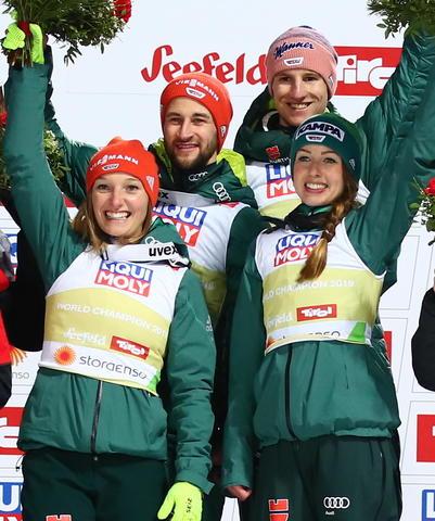 Mixed-Team Gold an Deutschland