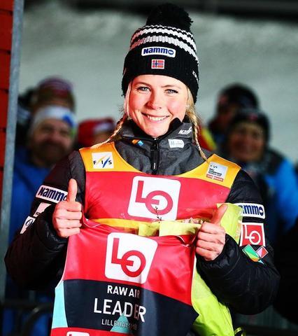 Überragende Leistung von Maren Lundby