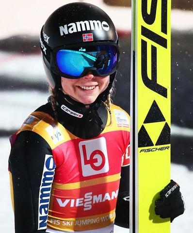 Maren Lundby gewinnt die Qualifikation in Trondheim
