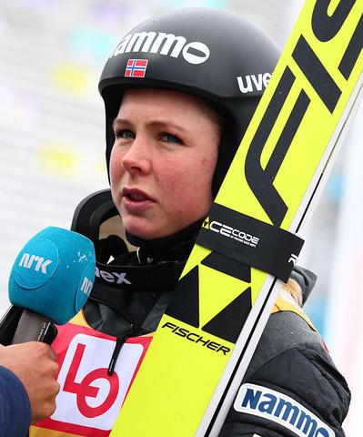 Maren Lundby holt sich letzten Quali-Sieg der Saison