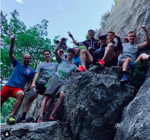 Österreicher starteten Sommertraining in Italien
