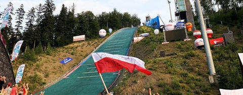 COC Skispringen in Szczyrk, Wisla live