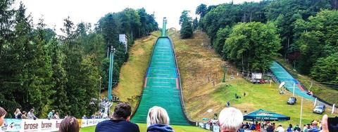COC Skispringen in Frenstat live