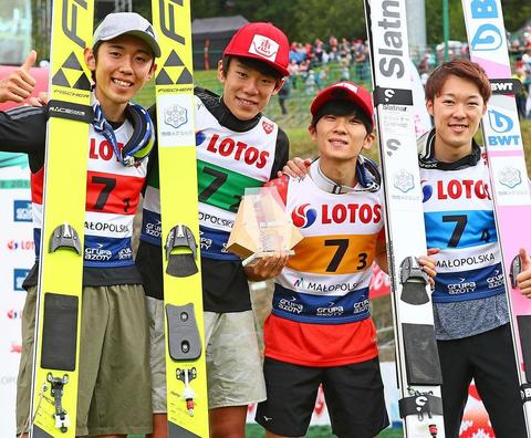 Team Japan überrascht in Zakopane