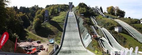 COC Skispringen in Rasnov live