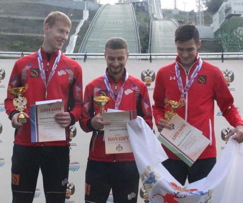 Russische Meistertitel an Trofimov, Klimov und Avvakumova