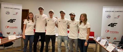 Tisková konference: Skokani na lyžích před sezónou 2019/2020