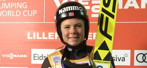 Lillehammer: Maren Lundby mit Auftaktsieg