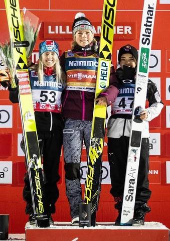 Maren Lundby dominiert auch an Tag 2 in Lillehammer