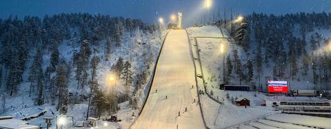 COC Skispringen in Ruka, Notodden live
