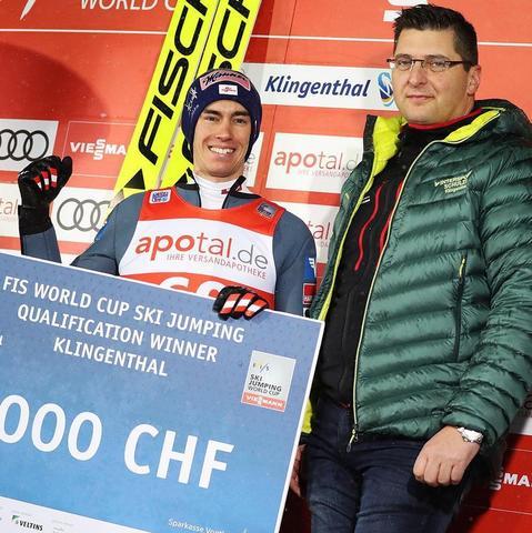 Stefan Kraft gewinnt Quali in Klingenthal